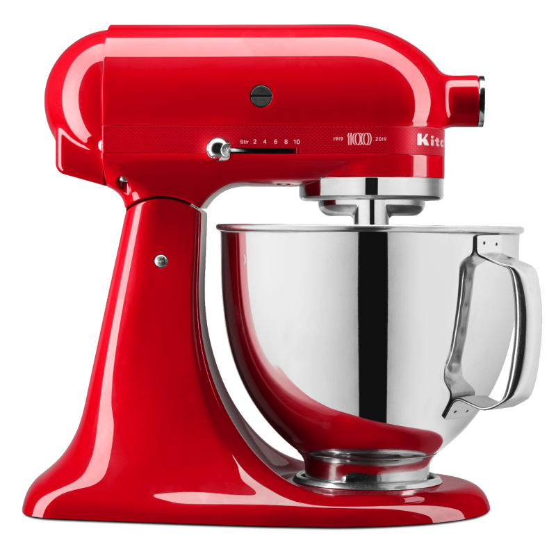 KitchenAid® 100 Year Limited Edition Queen of Hearts 5 Quart Tilt-Head Stand Mixer. (Photo: Walmart)