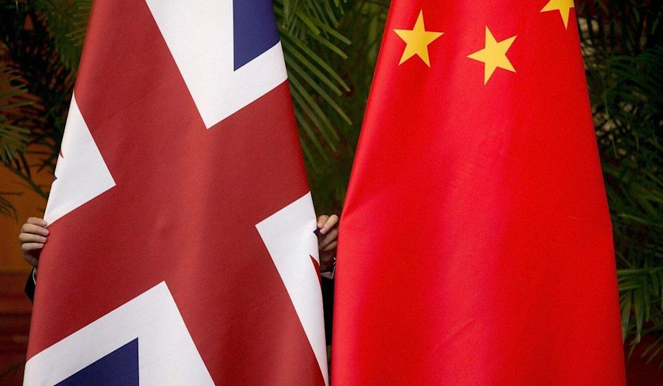 Britain and China are at odds over allegations of human rights abuses in Xinjiang and Beijing's policies in Hong Kong. Photo: Reuters