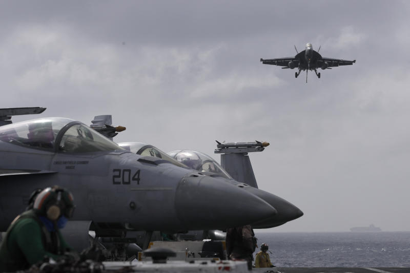 USA aircraft carrier in Hong Kong a sign of easing tensions?