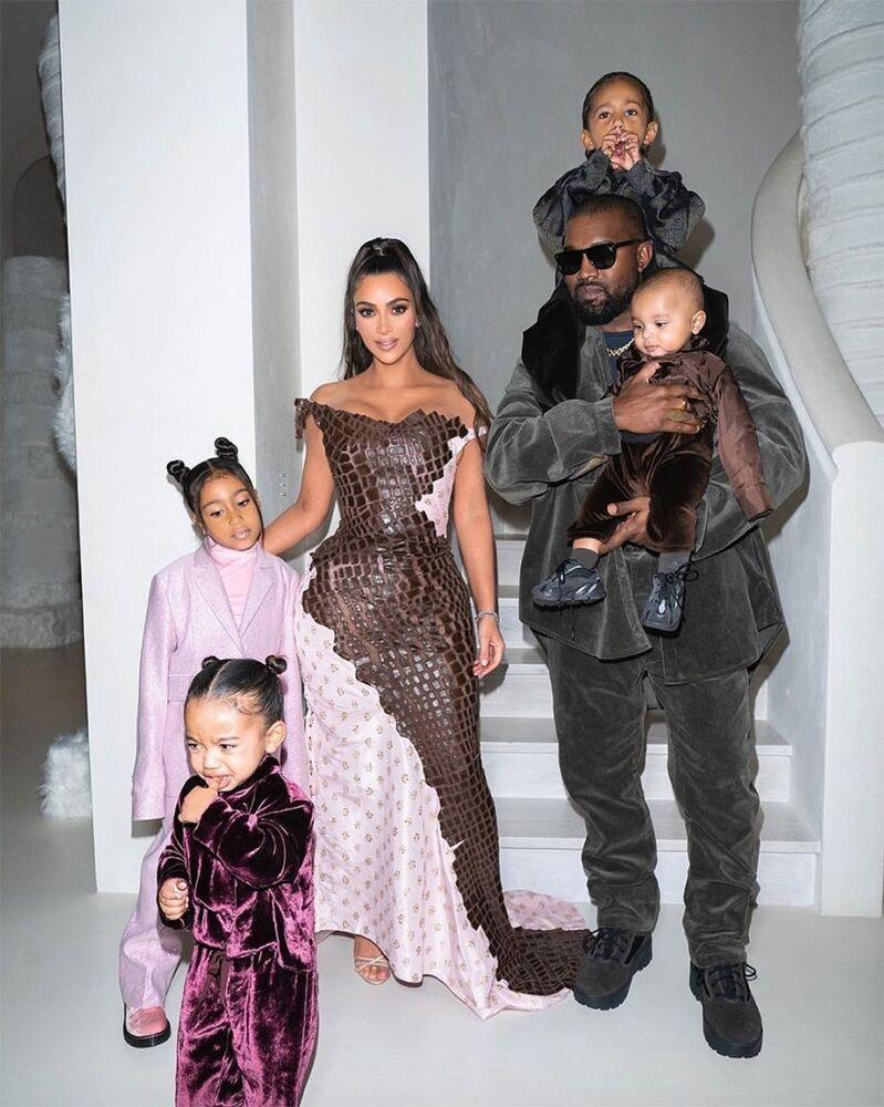 The West family | Kim Kardashian/Instagram