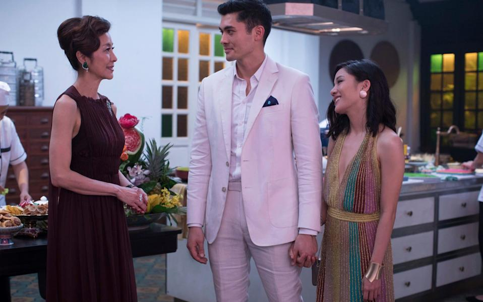 Crazy Rich Asians is the first Hollywood movie in 25 years to feature an all-Asian cast