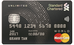 Standard Chartered Unlimited Credit Card - SingSaver