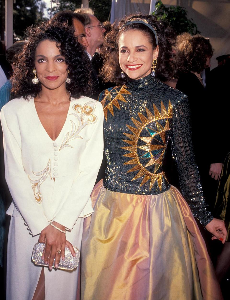 <p>Jasmine Guy and Debbie Allen beamed alongside each other on the red carpet. </p>