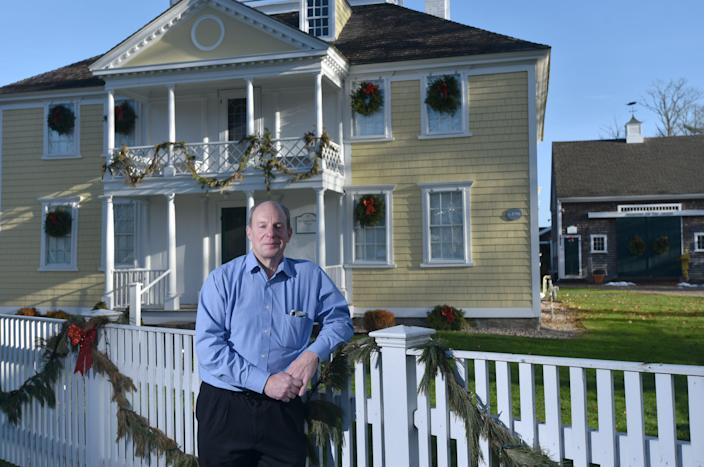 Mark Schmidt, executive director at the Falmouth Museum on the Green, is hoping that 2021 will be business as usual for the museum, which closed its doors to the public and offered programs online this year due to the COVID-19 pandemic.