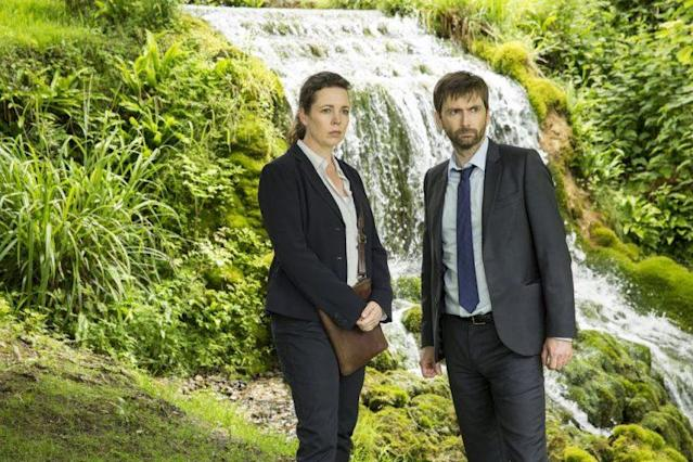 Olivia Colman and David Tennant in 'Broadchurch.' (Photo: BBC America)