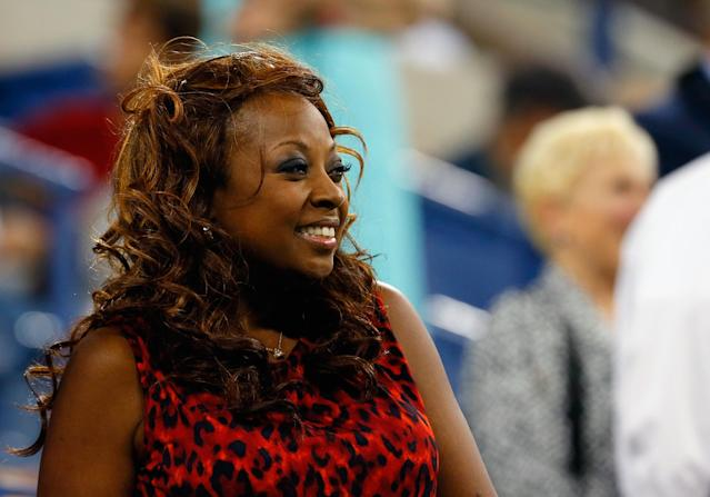 NEW YORK, NY - SEPTEMBER 03: Star Jones attends the women's singles quarter-final match between Serena Williams of United States of America and against Carla Suarez Navarro of Spain on Day Nine of the 2013 US Open at the USTA Billie Jean King National Tennis Center on September 3, 2013 in New York City. (Photo by Mike Stobe/Getty Images for the USTA)