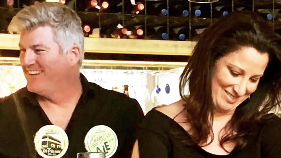 Maria O'Meagher, pictured right, has spoken out after the alleged kidnapping of her partner, former Test cricketer Stuart MacGill, was reported this week. Picture: Instagram