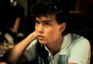 <p>Depp played a suburban teenager who is being haunted by a murdered child in his first feature film role.</p>