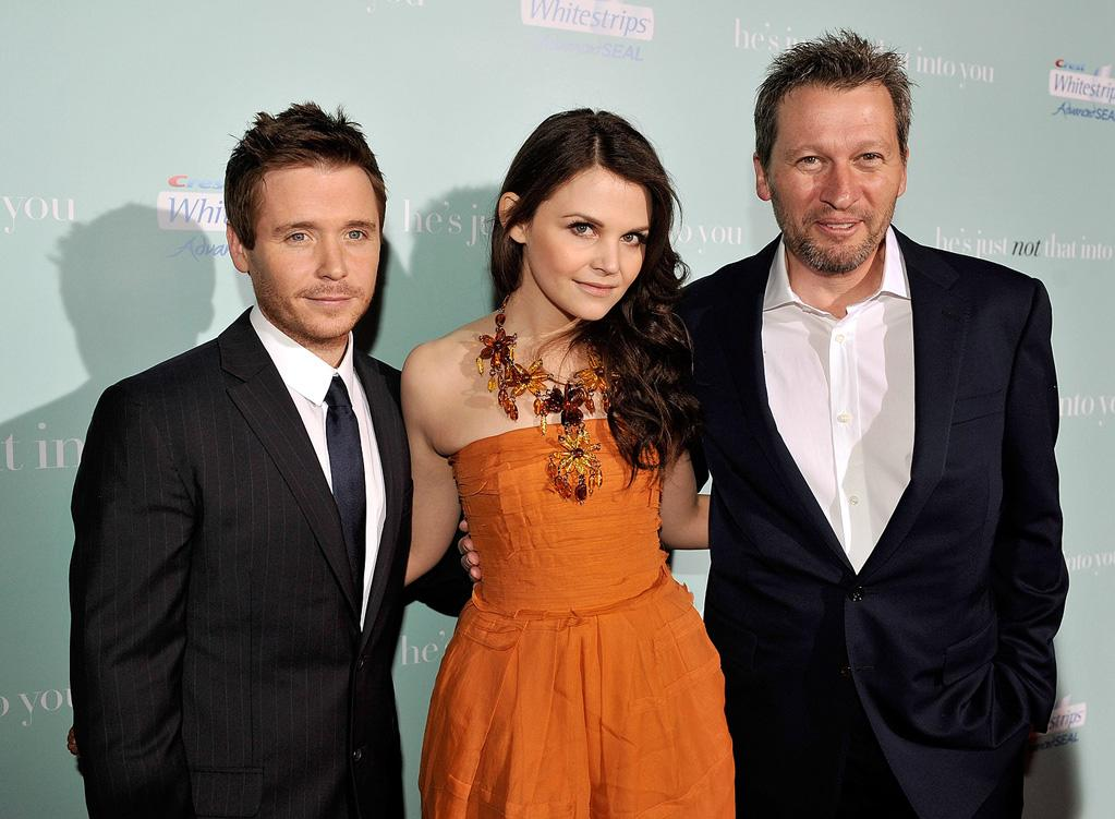 "<a href=""http://movies.yahoo.com/movie/contributor/1807590943"">Kevin Connelly</a>, <a href=""http://movies.yahoo.com/movie/contributor/1808398021"">Ginnifer Goodwin</a> and director <a href=""http://movies.yahoo.com/movie/contributor/1800021434"">Ken Kwapis</a> at the Los Angeles premiere of <a href=""http://movies.yahoo.com/movie/1809932969/info"">He's Just Not That Into You</a> - 02/02/2009"