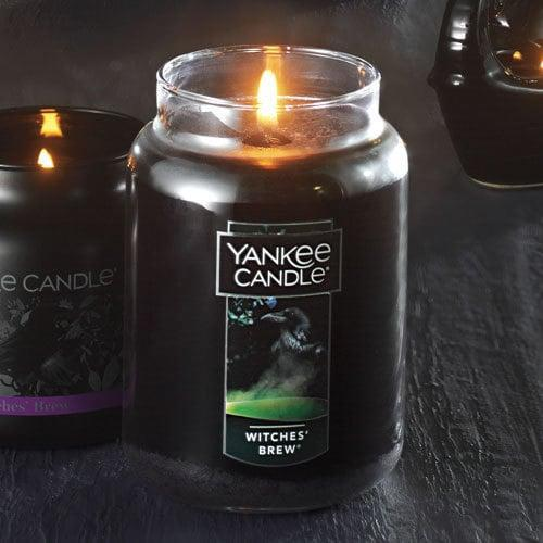 <p>This woodsy <span>Witches' Brew Original Large Jar Candle</span> ($30) will turn your home into a haunted house when you light it. Bonus: it can be lit for up to 110 hours!</p>