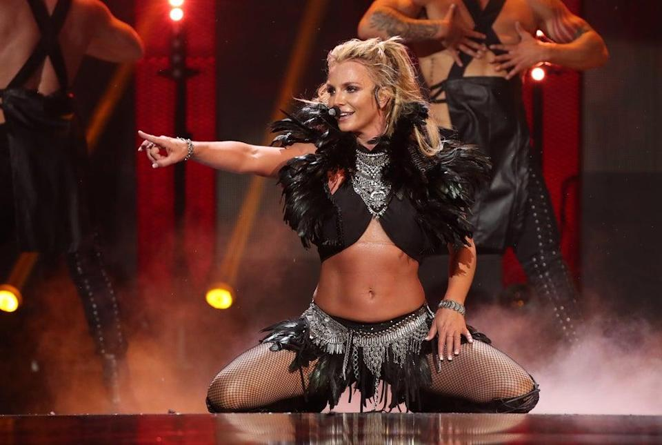 File image: Britney Spears performs onstage at the 2016 iHeartRadio Music Festival (Getty Images)
