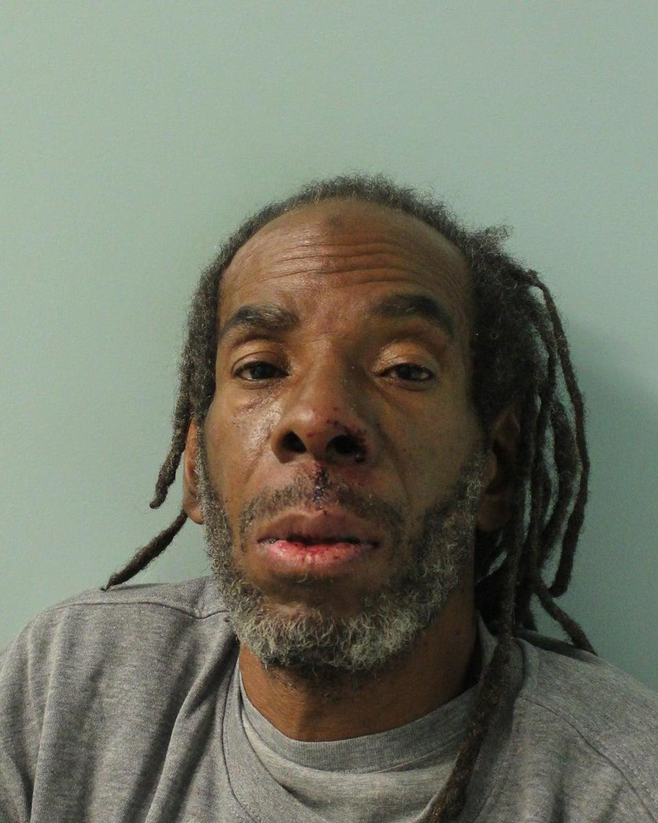 Muhammad Rodwan who was jailed for 16 years for the machete attack on Pc Outten (Metropolitan Police/PA) (PA Media)