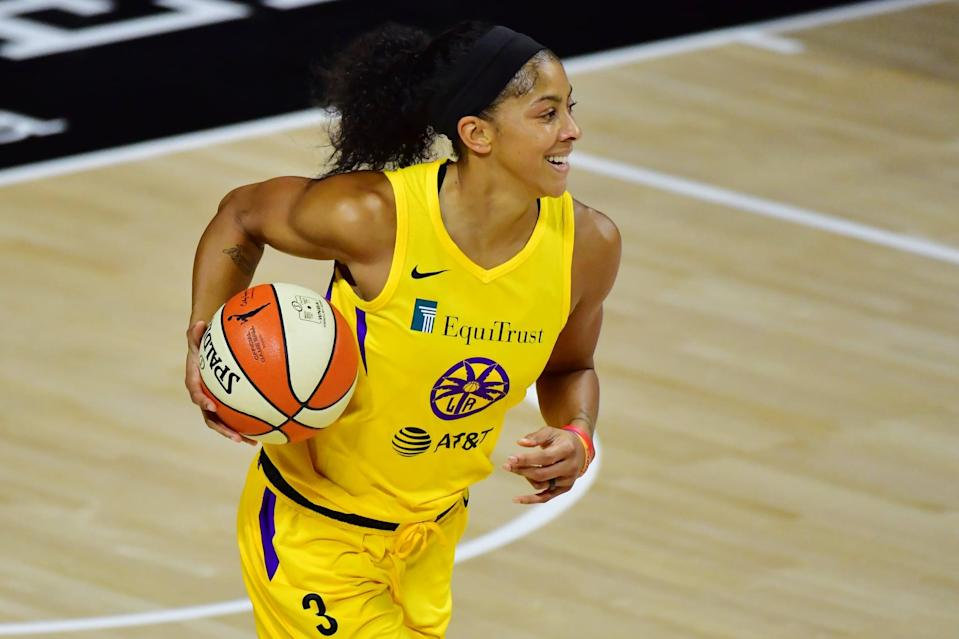 "<p>""<a href=""https://www.reuters.com/article/us-basketball-wnba-parker-interview/two-time-wnba-mvp-candace-parker-calls-league-a-leading-voice-for-social-justice-idUSKBN2482XT"" class=""link rapid-noclick-resp"" rel=""nofollow noopener"" target=""_blank"" data-ylk=""slk:We are the majority of the minority"">We are the majority of the minority</a>,"" Los Angeles Sparks forward Candace Parker told <strong>Reuters</strong> in July. ""We're a league that's 80 percent African-American women, women of color . . . different ethnicities, (we) tackle sexual orientation – like, we literally check every box."" A well-known star, Parker has used her voice to fight for gender equality as well as racial justice. ""Black Lives Matter on our jerseys . . . <a href=""https://www.desertsun.com/videos/sports/sportspulse/2020/08/13/candace-parker-social-justice-wnba/3367338001/"" class=""link rapid-noclick-resp"" rel=""nofollow noopener"" target=""_blank"" data-ylk=""slk:it's a moral stance"">it's a moral stance</a>,"" Parker told USA Today in August. ""It's a values stance.""</p>"