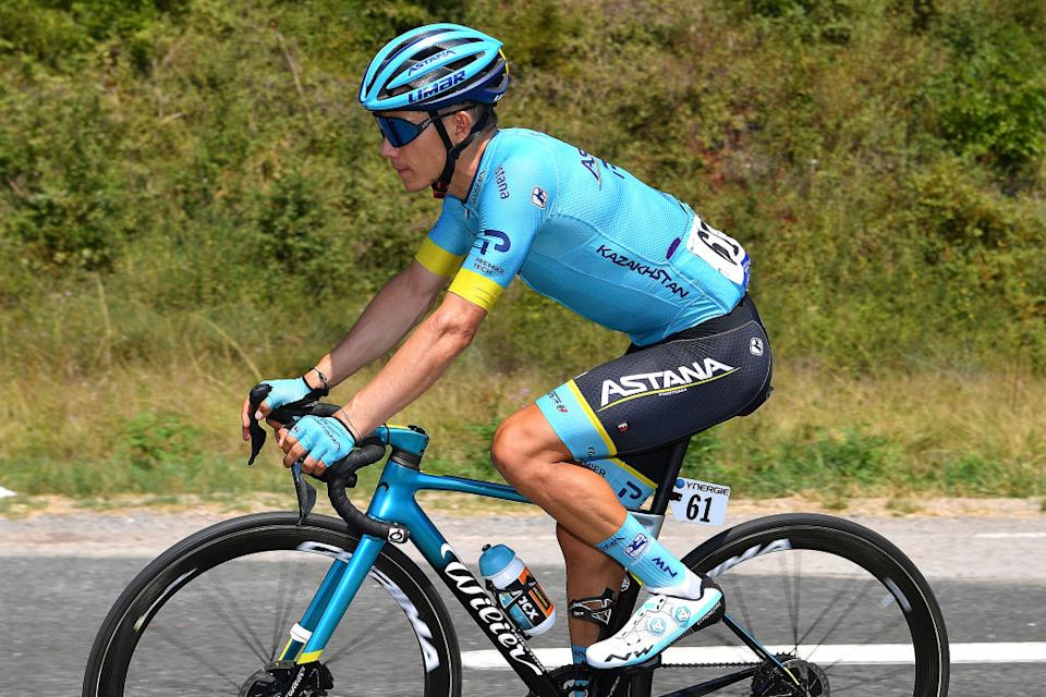 BEZIERS FRANCE  AUGUST 01 Miguel ngel Lpez Moreno of Colombia and Astana Pro Team  during the 44th La Route dOccitanie  La Depeche du Midi 2020 Stage 1 a 187km stage from Saint Affrique to Cazouls ls Bziers  RouteOccitanie  RDO2020  on August 01 2020 in Beziers France Photo by Justin SetterfieldGetty Images