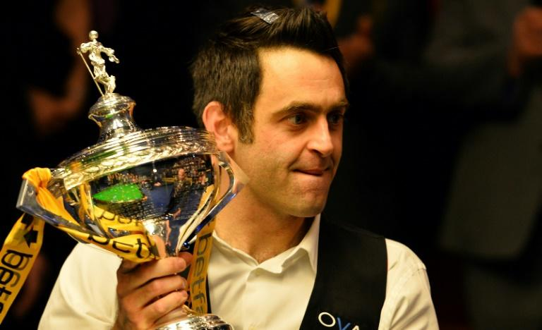 Ronnie O'Sullivan is a five-time world champion
