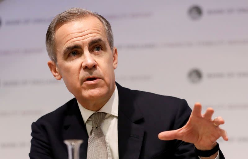 FILE PHOTO: Bank of England Financial Stability Report news conference in London