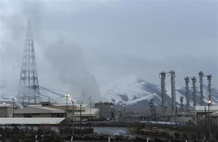 A general view of the Arak heavy-water project, 190 km (120 miles) southwest of Tehran January 15, 2011. REUTERS/ISNA/Hamid Forootan