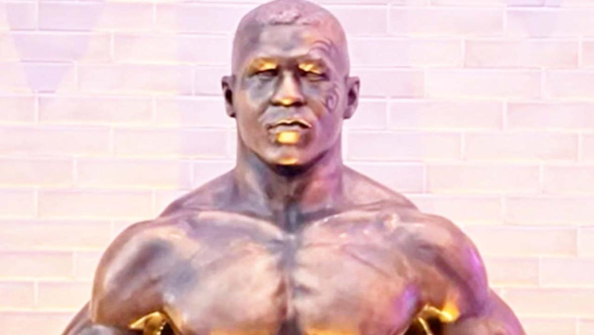 'Who is it': Unusual statue of sport icon leaves fans baffled