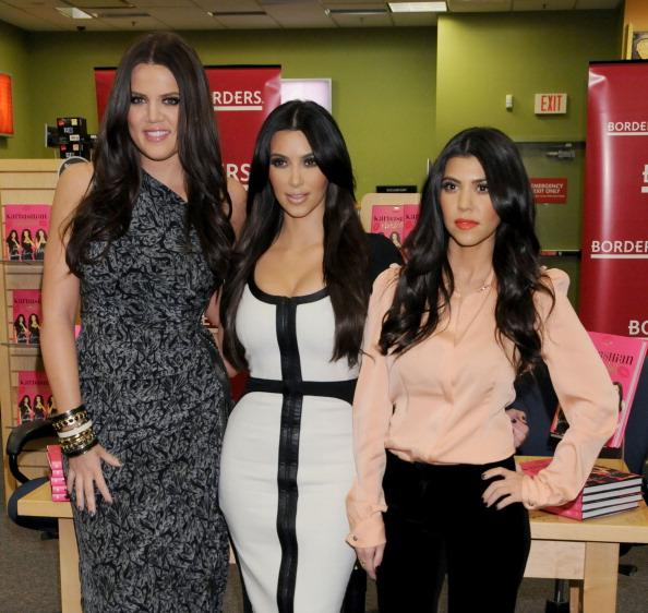 The Kardashians I love the Kardashians and how every single one of them dresses. Their hair is a huge inspiration to me. I love tying my hair back tight like they do and smoky eyes are a huge yes for me too.
