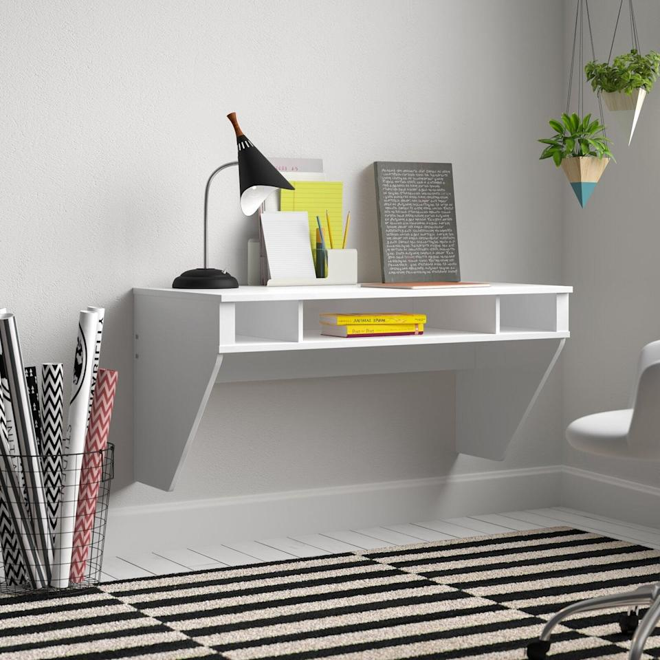 <p>Create a mini home office with the <span>Dowlen Floating Desk</span> ($225, originally $282).</p>