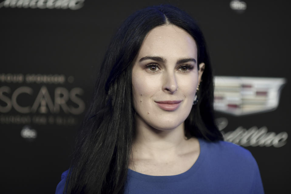 "Rumer Willis spoke about her own experiences on ""Red Table Talk."" (Photo: AP)"