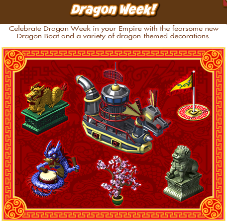 Empires and Allies Dragon Week