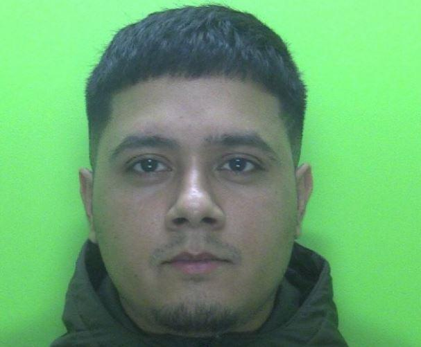 Stalker Islam Jaheed, 26, gas been jailed. (swns)