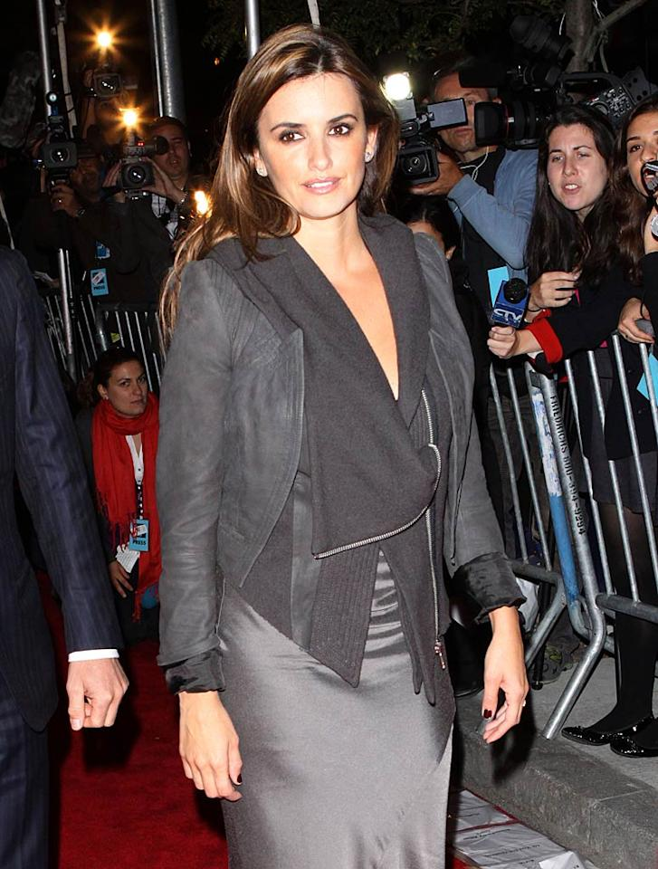 "Penelope Cruz shot a cameo in the upcoming film as well, <i>OK!</i> magazine reported this week. The Spanish beauty plays herself in the scene. Richie Buxo/<a href=""http://www.splashnewsonline.com"" target=""new"">Splash News</a> - October 11, 2009"