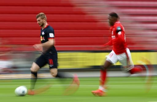 'Turbo' Timo Werner (left) can run 100m in just over 11 seconds