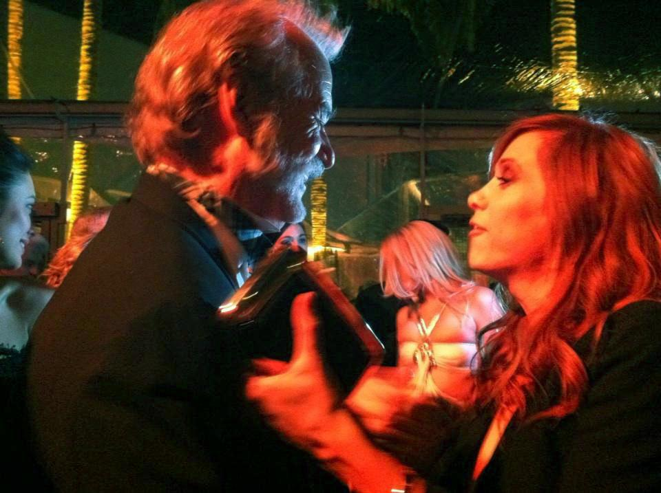PIC: Bill Murray and Kristen Wiig dancing at TWC party. - @ScottFeinberg