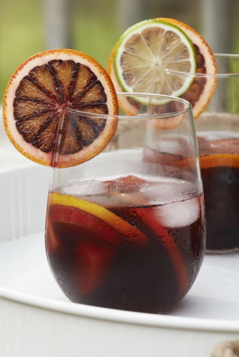 "<p>The Spanish are responsible for some of the greatest inventions in the world - tapas, paella, flamenco dancing and er, SANGRIA. </p><p>Get the <a href=""https://www.delish.com/uk/cocktails-drinks/a28934750/sangria-recipe/"" rel=""nofollow noopener"" target=""_blank"" data-ylk=""slk:Ultimate Sangria"" class=""link rapid-noclick-resp"">Ultimate Sangria</a> recipe.</p>"