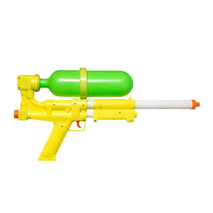 """<p><a class=""""link rapid-noclick-resp"""" href=""""https://www.amazon.com/Nerf-Super-Soaker-Breach-Blast/dp/B011MIXMG2/ref=sr_1_1?tag=syn-yahoo-20&ascsubtag=%5Bartid%7C10063.g.34738490%5Bsrc%7Cyahoo-us"""" rel=""""nofollow noopener"""" target=""""_blank"""" data-ylk=""""slk:BUY NOW"""">BUY NOW</a><br></p><p>Before it was called the Super Soaker, Air Force and NASA engineer Lonnie Johnson called his powerful water-gun invention the Power Drencher. It was released in 1990, but it rebranded a year later to be named Super Soaker, and was promoted through TV advertisements. Sales skyrocketed, and the Super Soaker — now sold under the brand Nerf — is still a huge seller.</p>"""