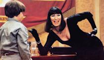 "<p>It's Anjelica Huston in a classic <a href=""https://www.popsugar.com/entertainment/witches-by-roald-dahl-book-spoilers-ending-47859997"" class=""link rapid-noclick-resp"" rel=""nofollow noopener"" target=""_blank"" data-ylk=""slk:Roald Dahl adaptation"">Roald Dahl adaptation</a>! While Luke stays at a hotel with his grandma, he comes across a convention of witches where the leader has plans to turn children into mice. This is a cult classic with a PG rating, but we'd be remiss not to mention that it's low-key terrifying (just based on the witch makeup alone), so it might be best suited for older children. </p> <p><a href=""https://www.netflix.com/title/20282991"" class=""link rapid-noclick-resp"" rel=""nofollow noopener"" target=""_blank"" data-ylk=""slk:Watch The Witches on Netflix."">Watch <strong>The Witches </strong>on Netflix. </a></p>"