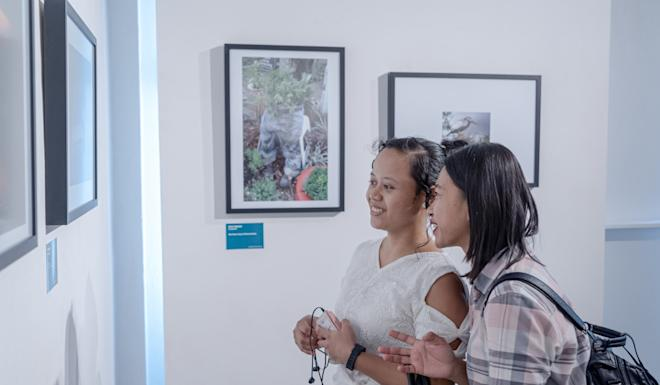 The Migrant Workers Photography Festival exhibition in Singapore. Photo: Handout