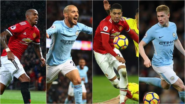 <p>United v City: Otamendi but no Lukaku in our combined Manchester XI</p>