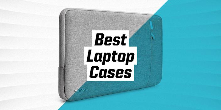 """<p>Laptops are obviously meant to be portable. But they're also fragile. You can easily extend the life of your <a href=""""https://www.popularmechanics.com/technology/gadgets/g36702849/best-laptops/"""" rel=""""nofollow noopener"""" target=""""_blank"""" data-ylk=""""slk:laptop"""" class=""""link rapid-noclick-resp"""">laptop</a> with something as simple—and functional—as a laptop case or sleeve.</p><p class=""""body-h3""""><strong>What to Consider</strong></p><p class=""""body-text"""">Beyond aesthetics and personal taste, there are a few things to consider before you purchase your new commuter case. </p><p class=""""body-text""""><strong>Protection: </strong>The point of a laptop case is to keep your laptop safer. Your laptop case should keep your laptop safe from dust and dirt until you're ready to use it. Many have water-resistant material, while others also include corner padding.</p><p class=""""body-text""""><strong>Fit: </strong>Your laptop sleeve should fit your computer snugly. You don't want it shifting around in its case too much. Luckily, there are a variety of sizes out there, so there's bound to be one that fits your laptop.</p><p class=""""body-text""""><strong>Material: </strong>Most laptop sleeves are made of cushioned neoprene, which provides good grip and decent shock absorption while also being soft enough for your laptop. Other materials might include nylon, hard plastic, and leather.</p><p class=""""body-text""""><strong>Storage: </strong>Although it's not essential, storage is definitely a nice feature to have for your laptop sleeve or case. You can keep notepads, chargers, pens, and any other small supplies you may need.</p><p class=""""body-h3""""><strong>How We Selected</strong></p><p>We selected our choices by combing through Amazon and other reputable sites like <em>GearPatrol</em> and <em>Wirecutter</em>. We made sure to only choose the sleeves and cases that have a minimum of four stars on Amazon. All you have to do is browse through our categories and find the sleeve that works best for you.</p>"""