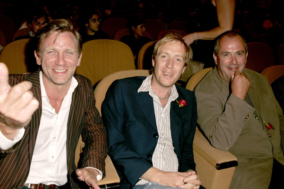 Daniel Craig, Rhys Ifans and Roger Michell (Photo by J. Vespa/WireImage)