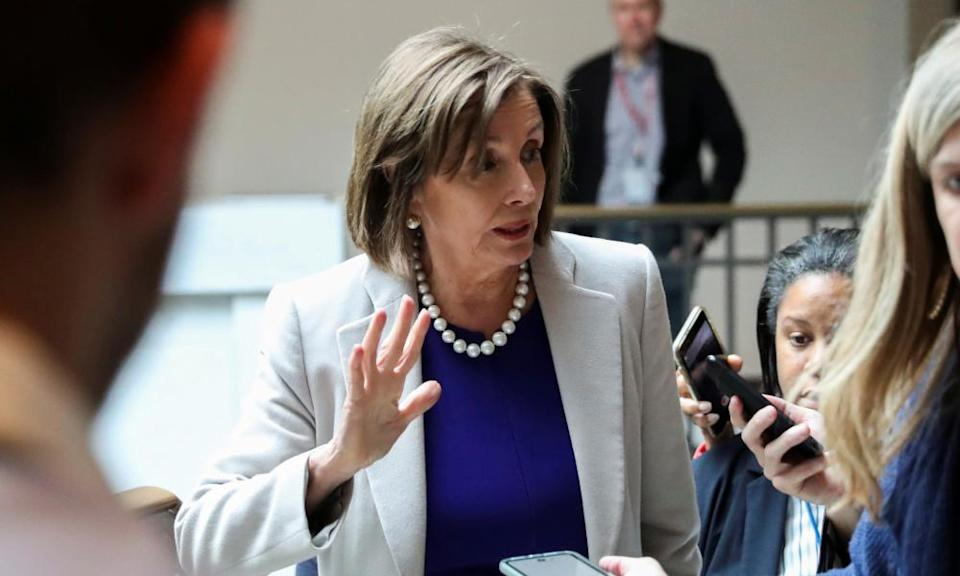 Pelosi praised administration officials who have testified for 'putting their country ahead of everything else.'