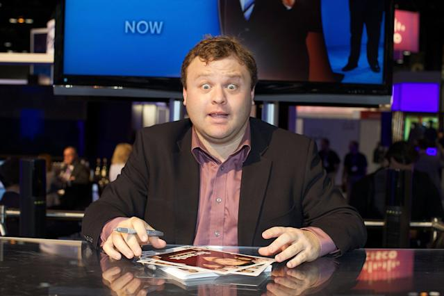 Frank Caliendo almost made the biggest trade of the NFL draft. (Photo by Jeff Schear/WireImage)