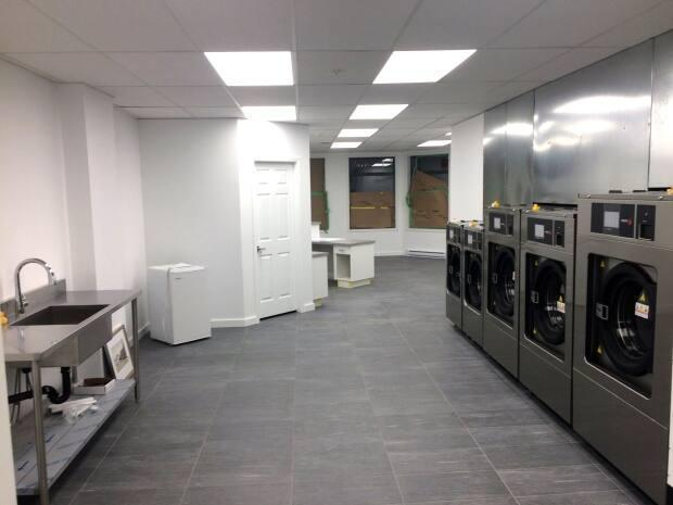 The Salt Spring Island Laundromat is the result of five years of fundraising and local donations.  (Facebook/Wagon Wheel Housing Society - image credit)