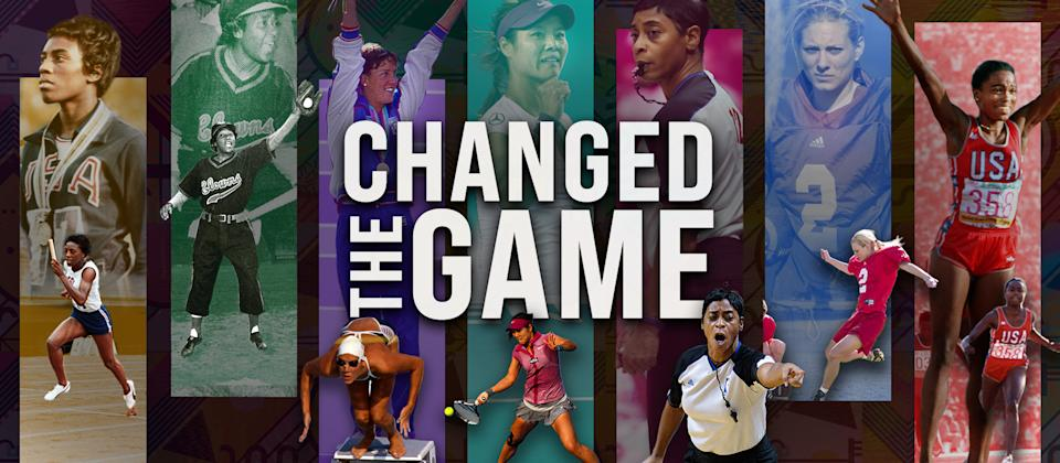 Changed The Game: Female athletes who paved the way.