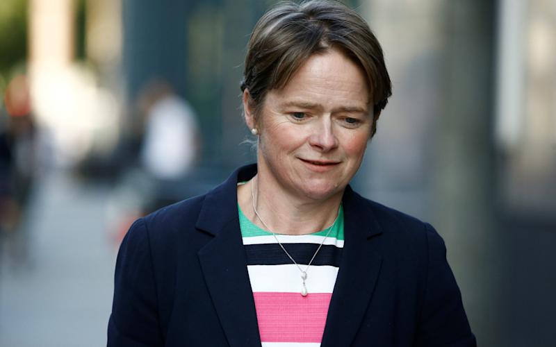 Dido Harding is responsible for Britain's test and trace system - REUTERS