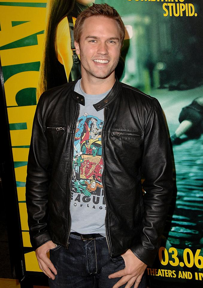 "<a href=""http://movies.yahoo.com/movie/contributor/1809721668"">Scott Porter</a> at the Los Angeles premiere of <a href=""http://movies.yahoo.com/movie/1808406490/info"">Watchmen</a> - 03/02/2009"