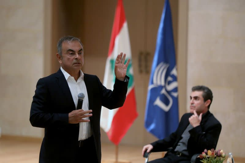 'Bring back trust': Carlos Ghosn offers executive training in troubled Lebanon