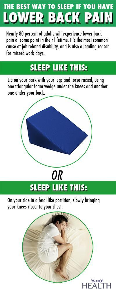 The Best Sleep Positions For All Your Aches And Pains