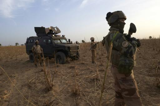 French troops in Burkina Faso last year. France has deployed 5,100 troops in the Sahel in its Barkhane anti-jihadist mission