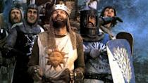 "<p>The Authurian legend get the parody treatment in this absurd—and endlessly quotable—cult classic in which the Monty Python players star as the Knights of the Roundtable on the search for the legendary treasure.</p><p><a class=""link rapid-noclick-resp"" href=""https://www.netflix.com/watch/771476?trackId=13752289&tctx=0%2C0%2Ce5364bcd-ed09-466d-b00e-ea2fbaeb11c9-67181417%2C%2C"" rel=""nofollow noopener"" target=""_blank"" data-ylk=""slk:Watch Now"">Watch Now</a></p>"