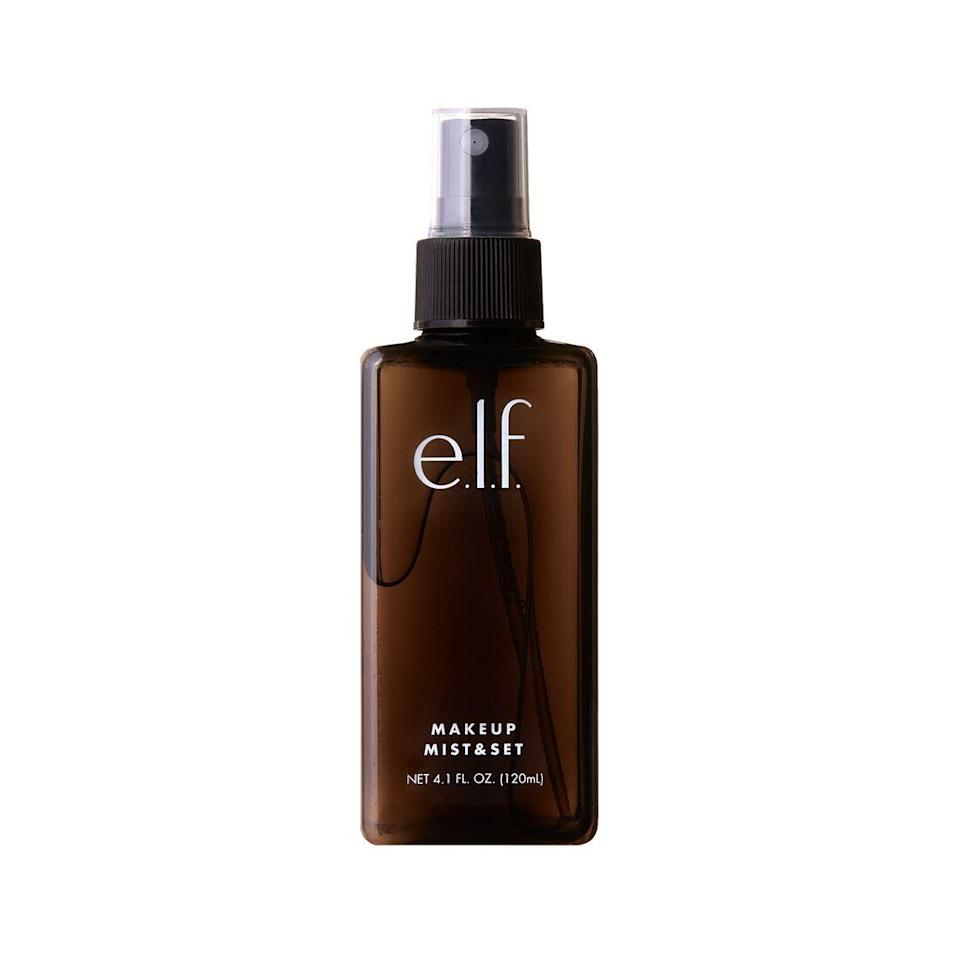 "<p>If you'd spend $5 to have your makeup last all day — look no further. E.L.F.'s Makeup Mist & Set Spray was one of the staples in editorial assistant <a href=""https://www.allure.com/contributor/gabi-thorne?mbid=synd_yahoo_rss"" rel=""nofollow noopener"" target=""_blank"" data-ylk=""slk:Gabi Thorne's"" class=""link rapid-noclick-resp"">Gabi Thorne's</a> makeup bag when the drugstore aisle was the primary source of her collection. ""It keeps my foundation lasting all day long for a very low price and leaves a nice mist of product on the face without feeling like you've been attacked by the spritzer,"" says Thorne.</p> <p><strong>$5</strong> (<a href=""https://www.elfcosmetics.com/makeup-mist-and-set/300086.html"" rel=""nofollow noopener"" target=""_blank"" data-ylk=""slk:Shop Now"" class=""link rapid-noclick-resp"">Shop Now</a>)</p>"