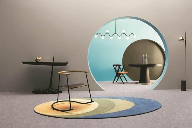 The Asian Paints ColourNext20 trend report predicts the idea of sound as a sensory experience, also called Sonic. The décor is abstract and scenic. Sonic explores how a human mind willingly engages with sound as a sensory experience