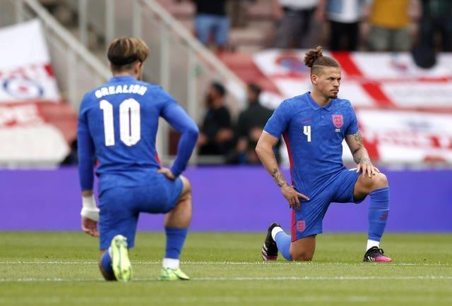England players were booed for taking the knee before their Euro 2020 warm-up games